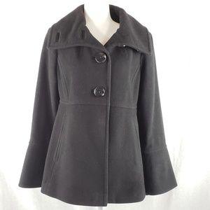 Jessica Simpson wool winter coat Black L